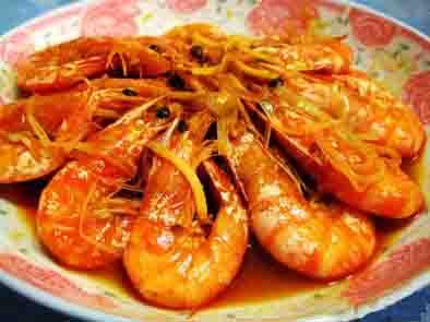 鲜嫩适口的油焖虾