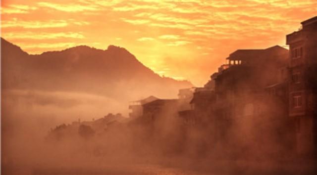 霍童溪迷雾重重 如诗如画