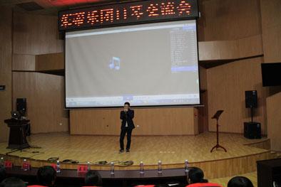 台湾茱蒂乐团参加口琴交流   宁师学子领略大师风采